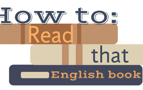 How To: Actually read that book in English