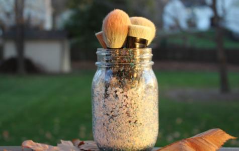 Washing makeup brushes with Orbiter's Beauty Guru