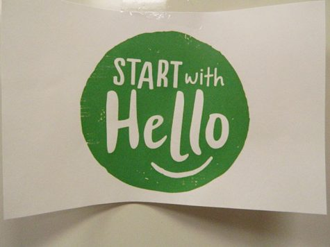 Start with a Hello Week is a week dedicated to branching out beyond students