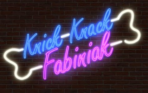 """Knick Knack Fabinak"" Logos"