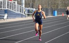 Senior sprinter Taylor Ivory competes in an event at home. Ivory will be attending The University of Findlay on a track scholarship. My time with track is just beginning and I cant wait to see where it goes, she said.